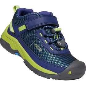 Keen Targhee Sport Chaussures Enfant, blue depths/chartreuse